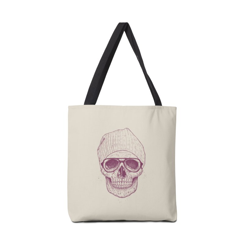 Cool skull Accessories Tote Bag Bag by Balazs Solti