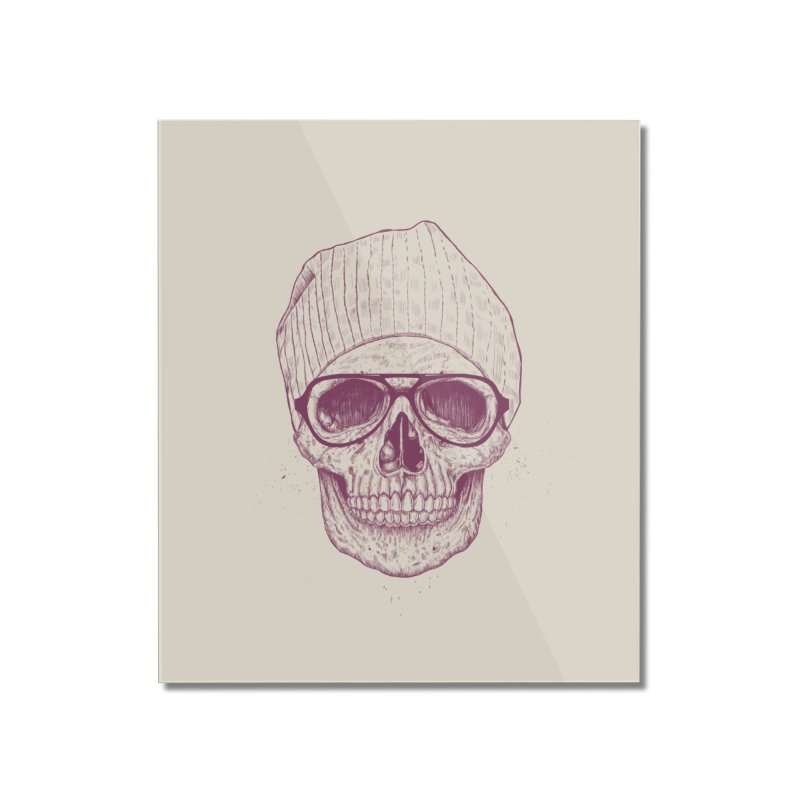 Cool skull Home Mounted Acrylic Print by Balazs Solti
