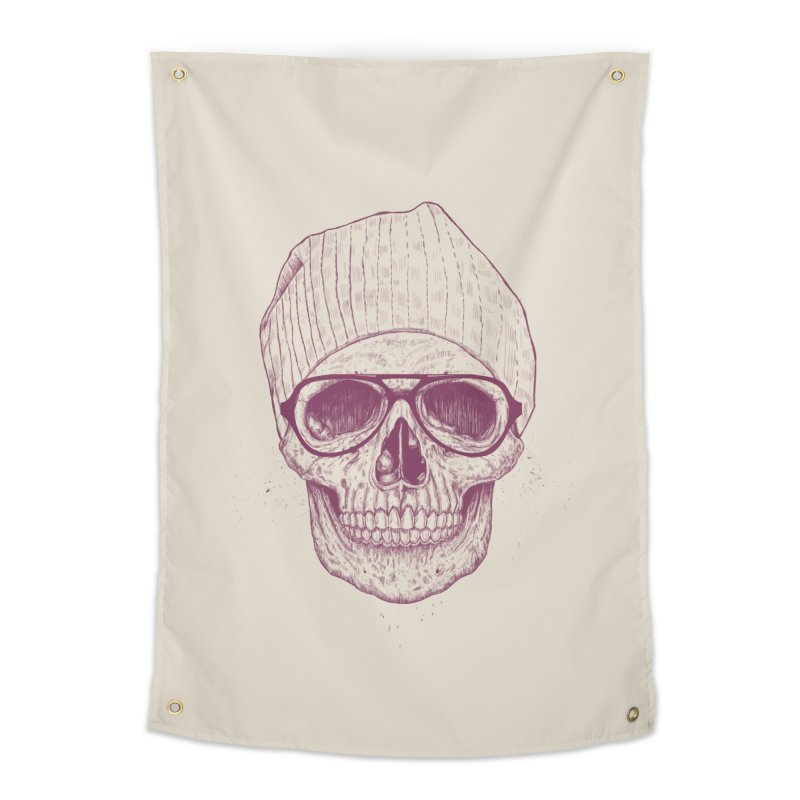 Cool skull Home Tapestry by Balazs Solti