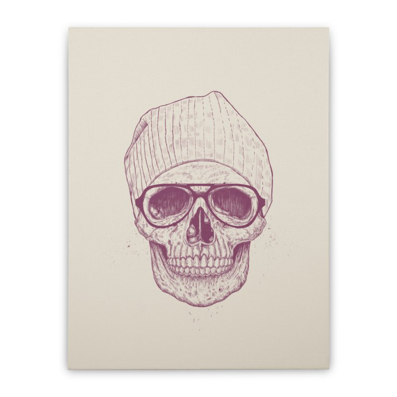 Cool skull Home Stretched Canvas by Balazs Solti