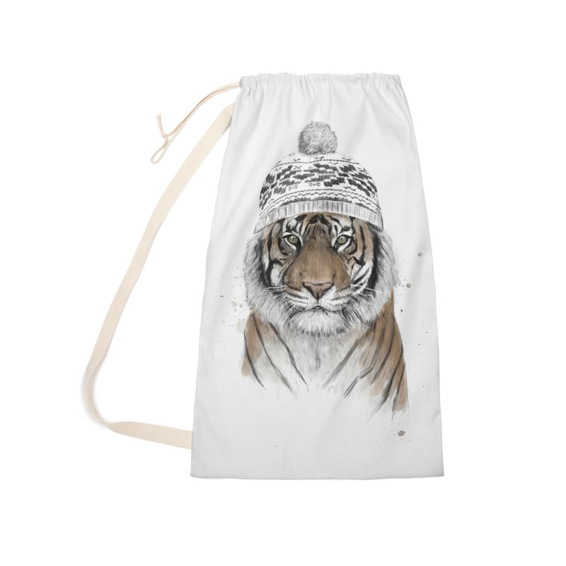 Siberian tiger Accessories Laundry Bag Bag by Balazs Solti