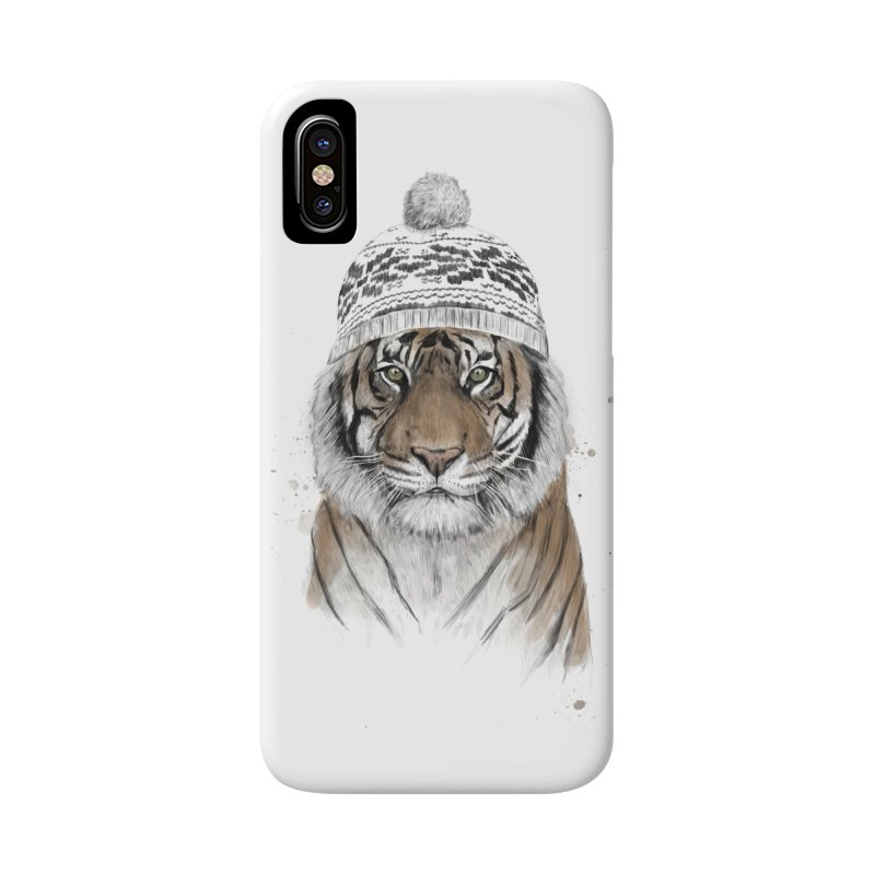Siberian tiger Accessories Phone Case by Balazs Solti
