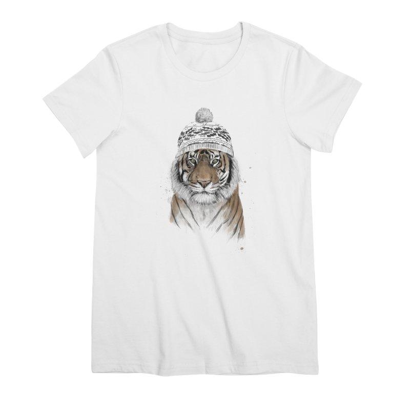 Siberian tiger Women's T-Shirt by Balazs Solti