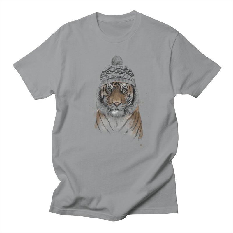 Siberian tiger Women's Regular Unisex T-Shirt by Balazs Solti