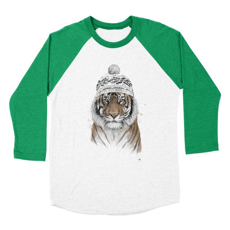 Siberian tiger Men's Longsleeve T-Shirt by Balazs Solti