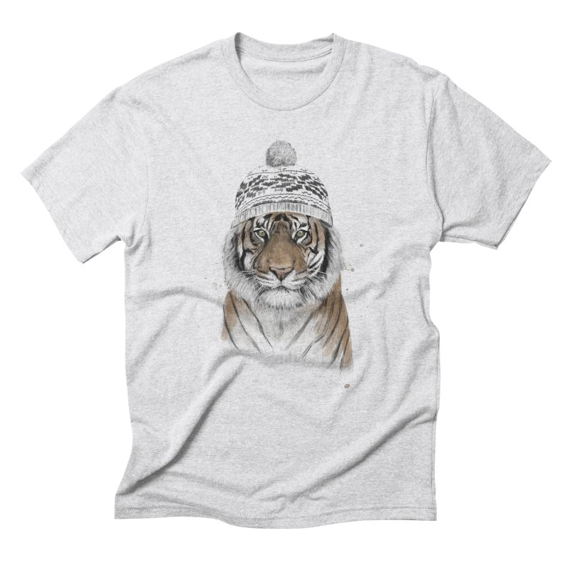 Siberian tiger Men's Triblend T-Shirt by Balazs Solti