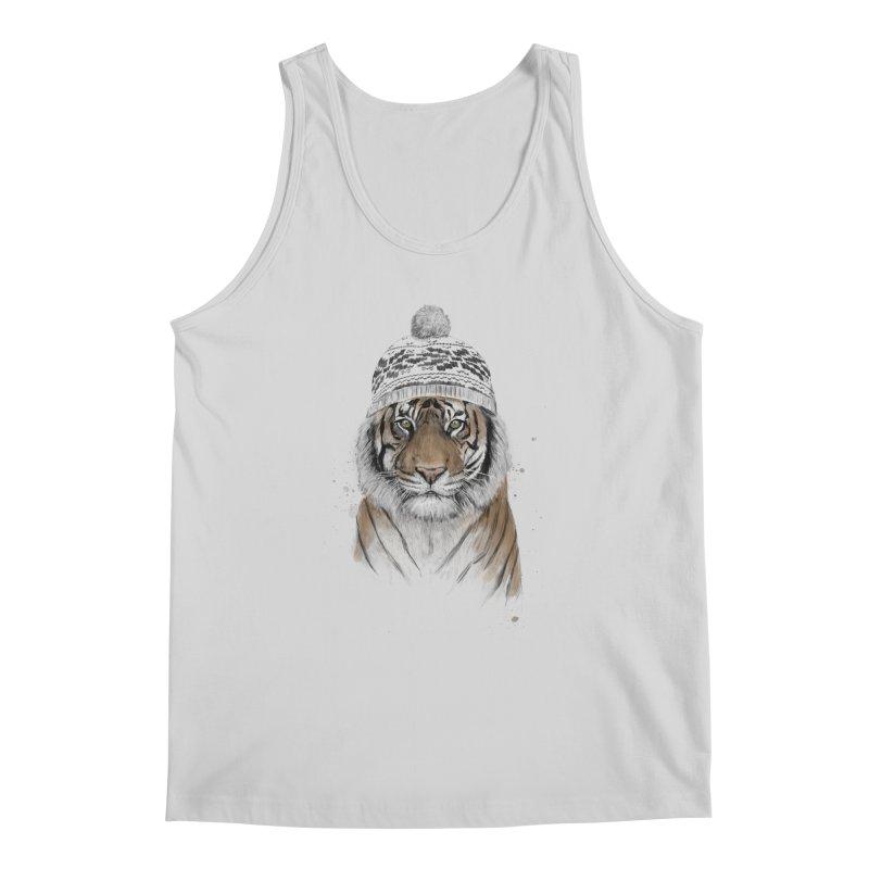 Siberian tiger Men's Regular Tank by Balazs Solti