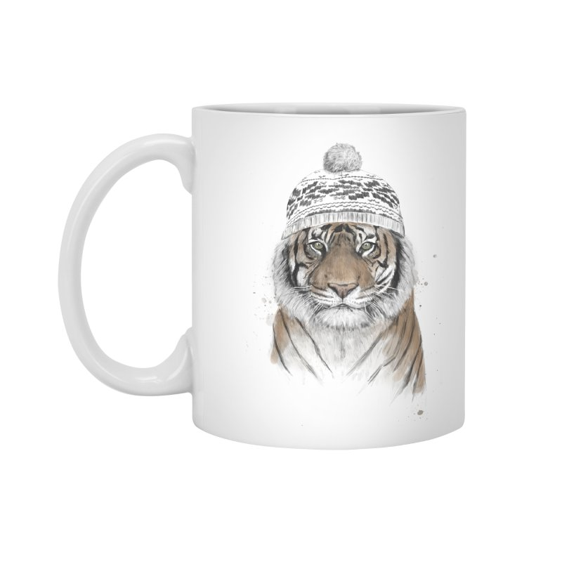 Siberian tiger Accessories Mug by Balazs Solti