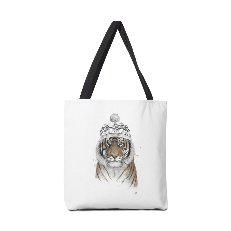 Siberian tiger Accessories Tote Bag Bag by Balazs Solti