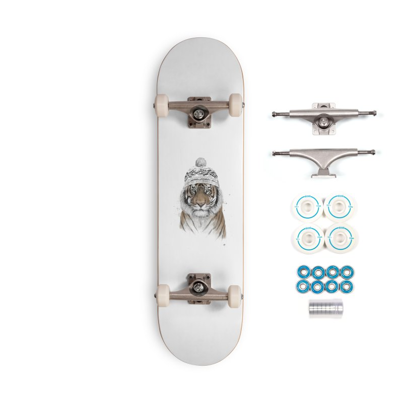 Siberian tiger Accessories Complete - Basic Skateboard by Balazs Solti