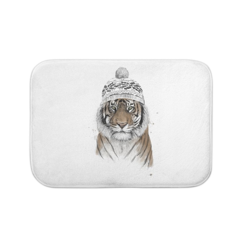 Siberian tiger Home Bath Mat by Balazs Solti
