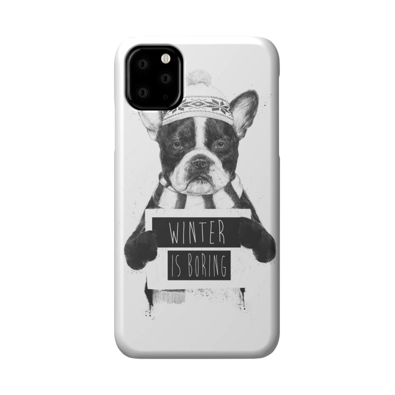 Winter is boring Accessories Phone Case by Balazs Solti