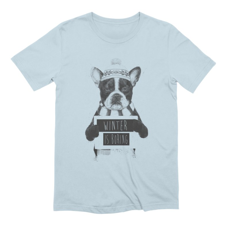 Winter is boring Men's Extra Soft T-Shirt by Balazs Solti