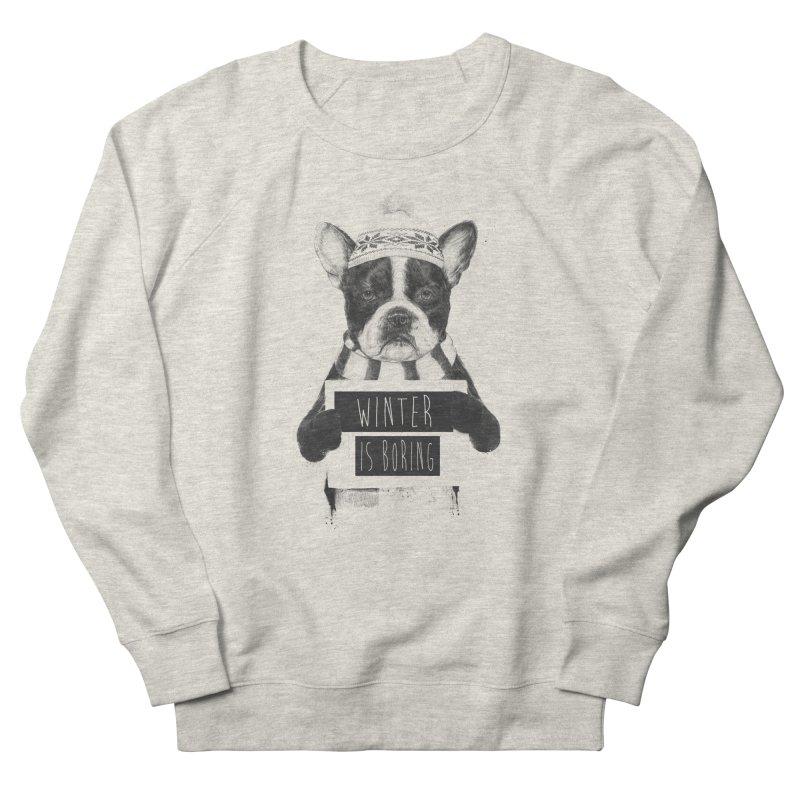 Winter is boring Men's Sweatshirt by Balazs Solti