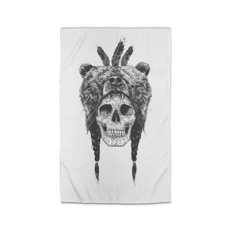 Dead shaman Home Rug by Balazs Solti