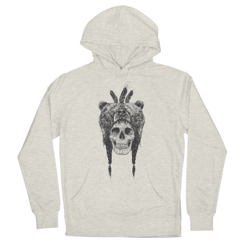 Dead shaman Women's French Terry Pullover Hoody by Balazs Solti