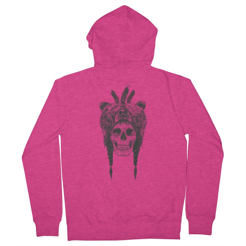 Dead shaman Women's Zip-Up Hoody by Balazs Solti