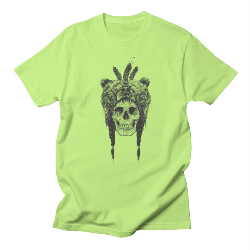 Dead shaman Women's Regular Unisex T-Shirt by Balazs Solti