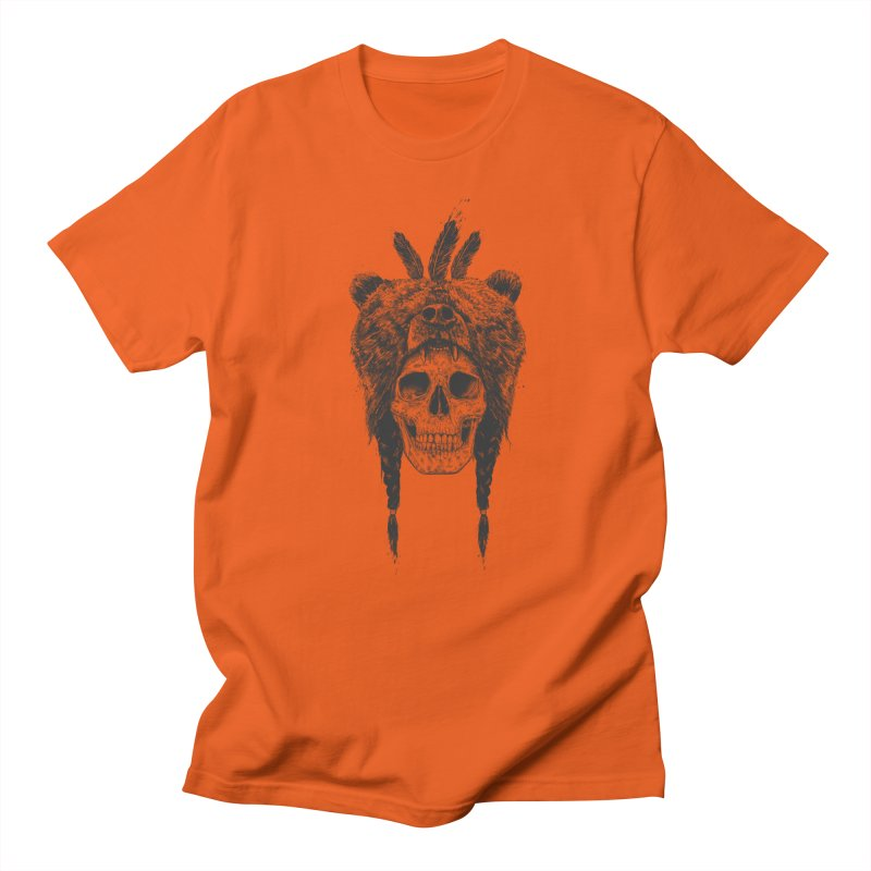Dead shaman Men's T-Shirt by Balazs Solti