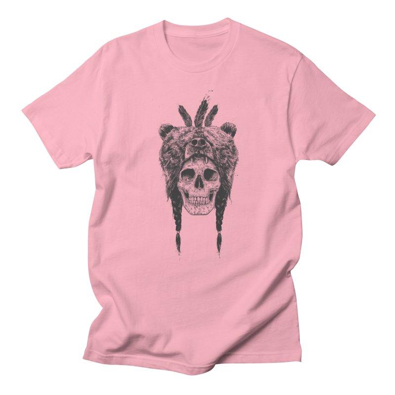 Dead shaman Men's Regular T-Shirt by Balazs Solti