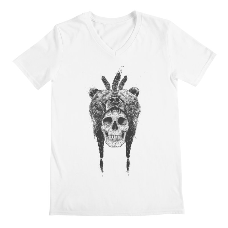 Dead shaman Men's V-Neck by Balazs Solti