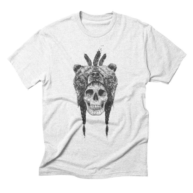 Dead shaman Men's Triblend T-shirt by Balazs Solti