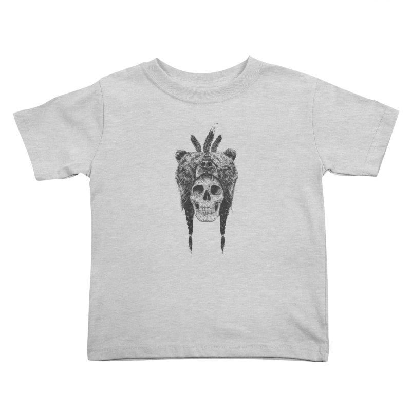 Dead shaman Kids Toddler T-Shirt by Balazs Solti