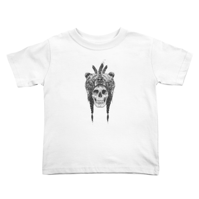 Dead shaman Kids Toddler T-Shirt by Balazs Solti