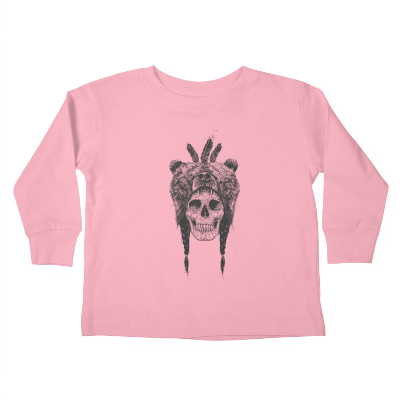 Dead shaman Kids Toddler Longsleeve T-Shirt by Balazs Solti
