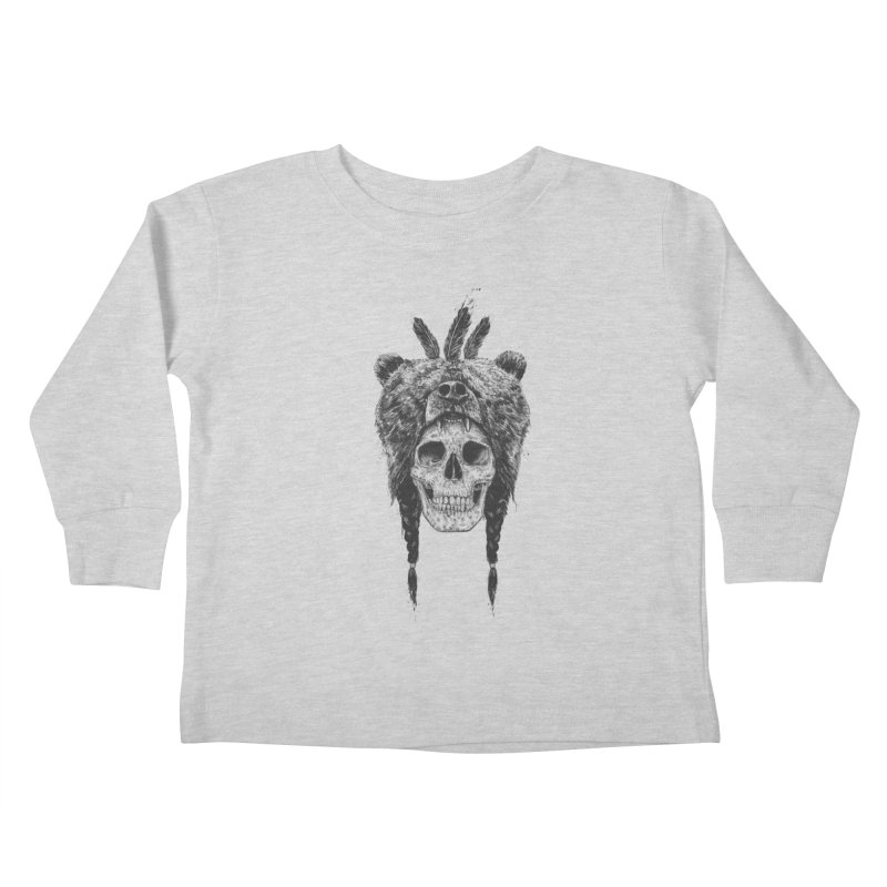 Dead shaman Kids Toddler Longsleeve T-Shirt by Balazs Solti
