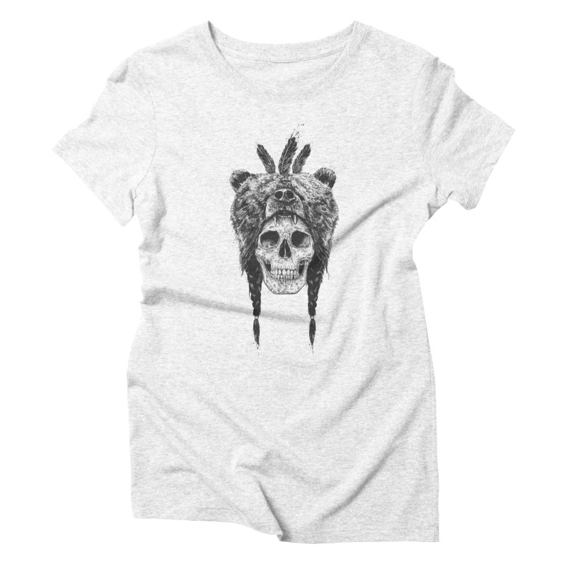 Dead shaman Women's Triblend T-shirt by Balazs Solti