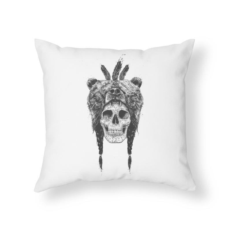 Dead shaman Home Throw Pillow by Balazs Solti