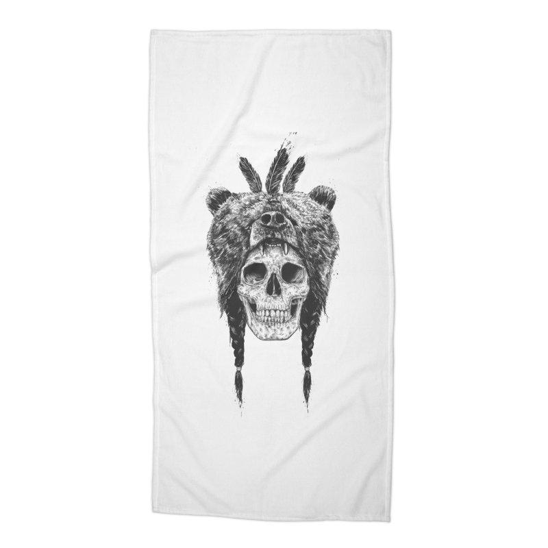 Dead shaman Accessories Beach Towel by Balazs Solti