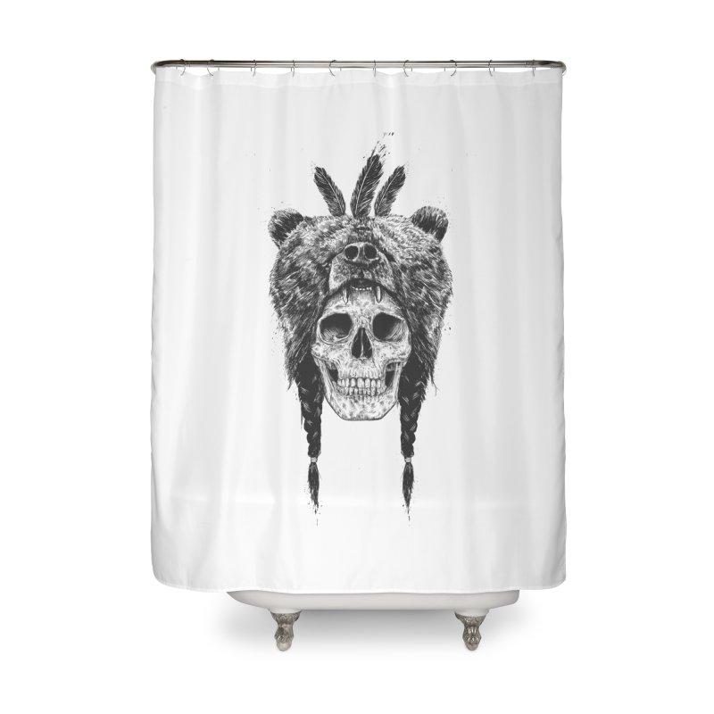 Dead shaman Home Shower Curtain by Balazs Solti