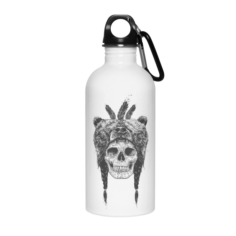 Dead shaman Accessories Water Bottle by Balazs Solti