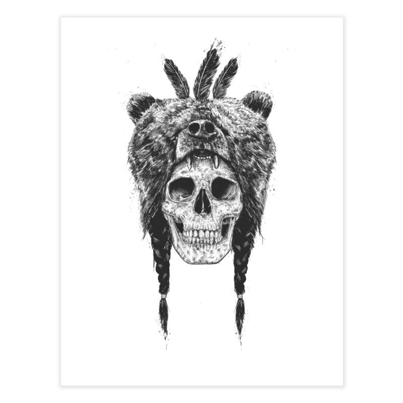 Dead shaman Home Fine Art Print by Balazs Solti