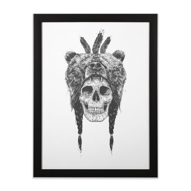 Dead shaman Home Framed Fine Art Print by Balazs Solti