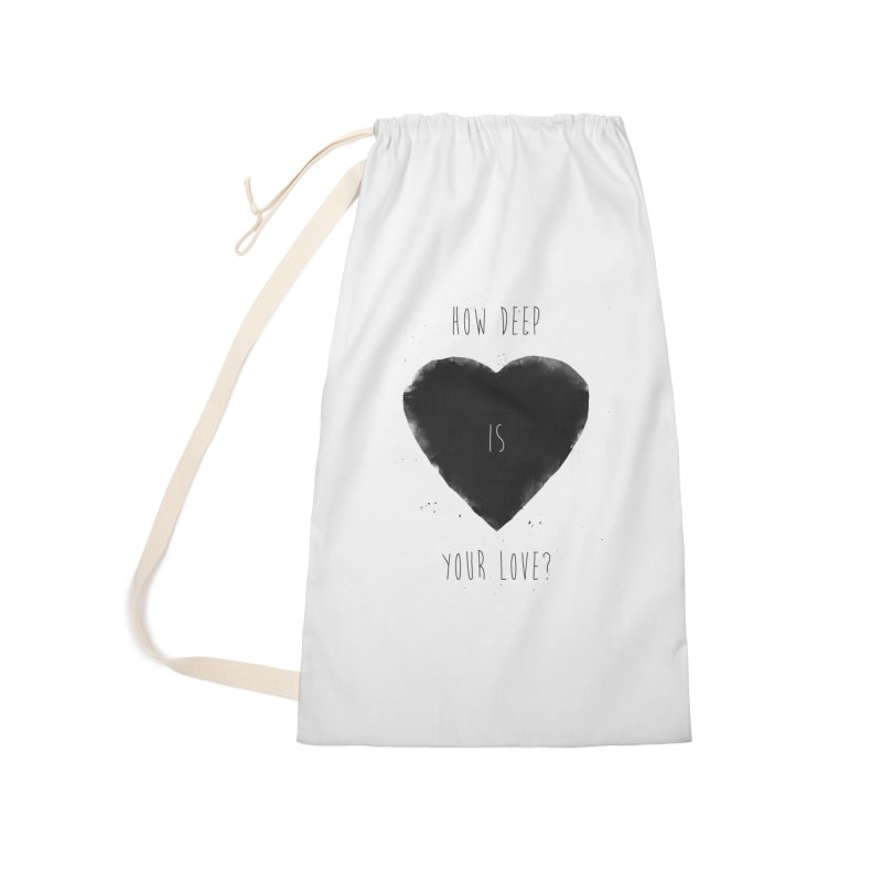 How deep is your love? Accessories Bag by Balazs Solti