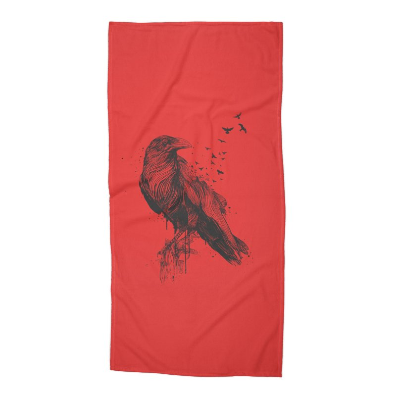 Born to be free Accessories Beach Towel by Balazs Solti