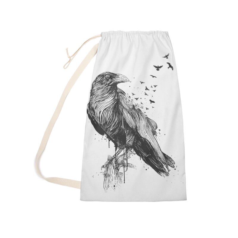 Born to be free Accessories Laundry Bag Bag by Balazs Solti