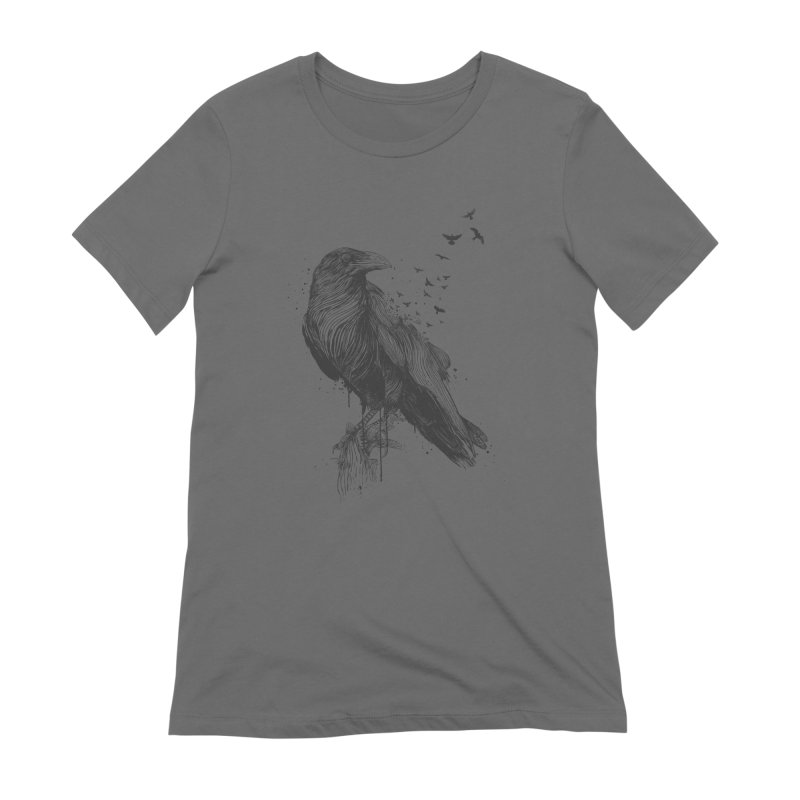 Born to be free Women's Extra Soft T-Shirt by Balazs Solti