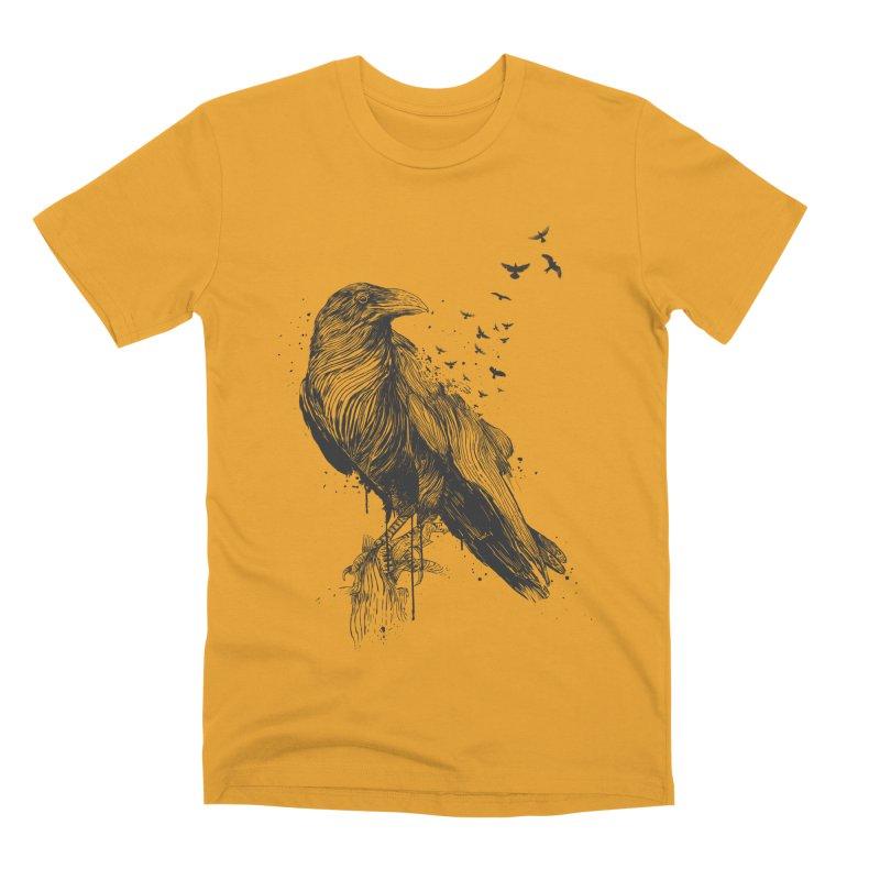 Born to be free Men's Premium T-Shirt by Balazs Solti