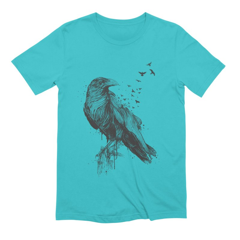 Born to be free Men's Extra Soft T-Shirt by Balazs Solti