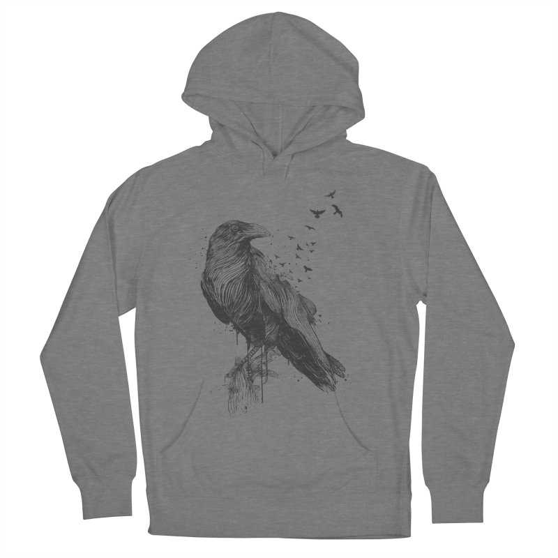Born to be free Women's Pullover Hoody by Balazs Solti