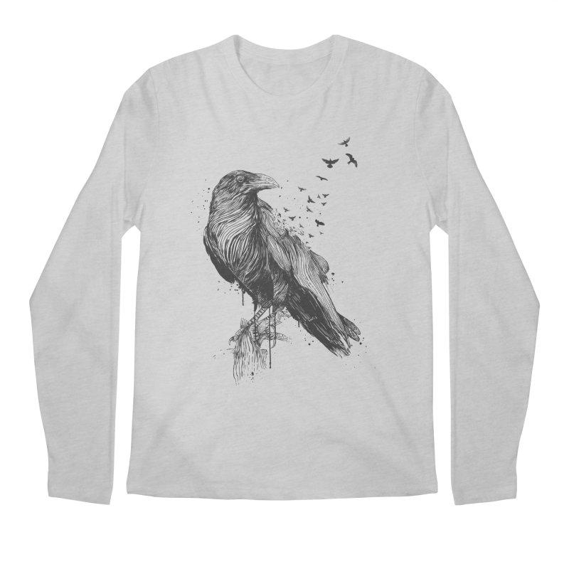 Born to be free Men's Regular Longsleeve T-Shirt by Balazs Solti