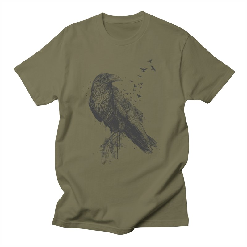 Born to be free Women's Regular Unisex T-Shirt by Balazs Solti