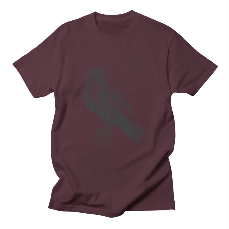 Born to be free Men's Regular T-Shirt by Balazs Solti