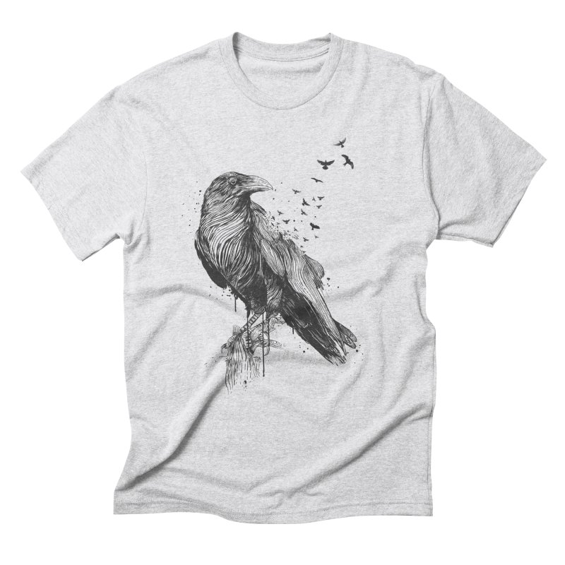 Born to be free Men's Triblend T-Shirt by Balazs Solti