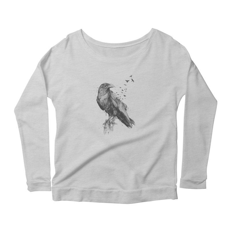 Born to be free Women's Longsleeve T-Shirt by Balazs Solti