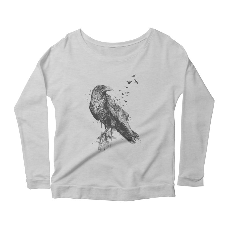 Born to be free Women's Longsleeve T-Shirt by Balazs Solti
